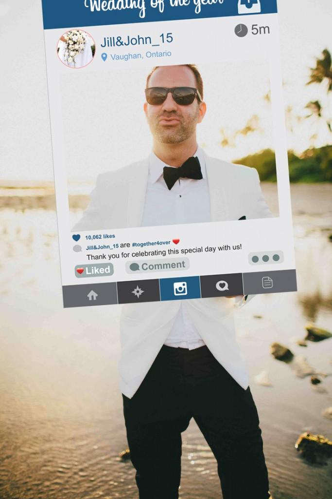 social media frame photo 1